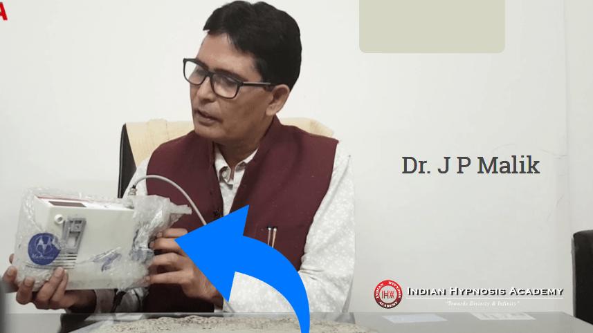 use of gsr in hypnotherapy, gsr machine, hypnotherapy, hypnotism, indian hypnosis academy, dr jp malik