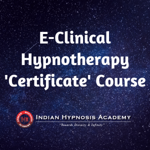 E-Clinical Hypnotherapy 'Certificate' Course