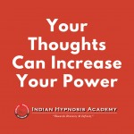 Thoughts Can Increase Power